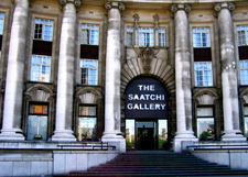 The Saatchi Gallery Was Based At County Hall
