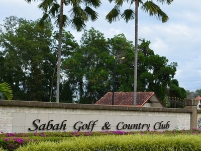 Sabah Golf & Country Club - Gate