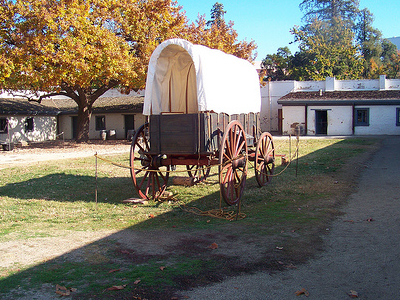 Sacramento Sutter's Fort Inside View