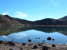 Sacred Blue Lake - Tongariro