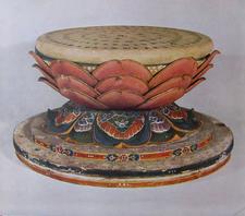 Sacred Lotus Pedestal Byodoin