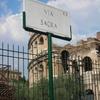 Modern Sign Of The Via Sacra