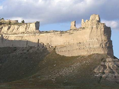 Saddle Rock In Scotts Bluff National Monument