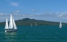 Sailboats @ Rangitoto Island NZ