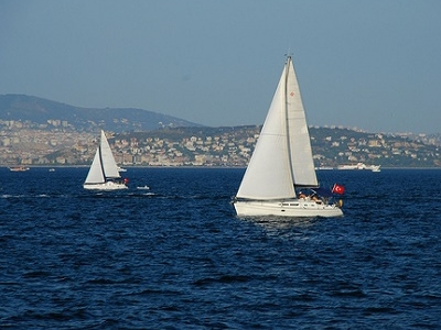 Sailing The Sea Of Marmara