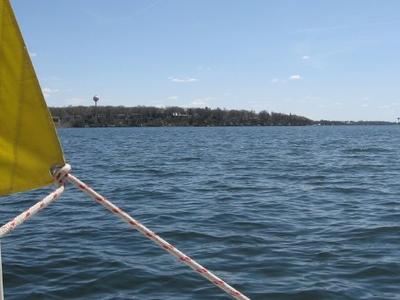 Sailing West Lake Okoboji
