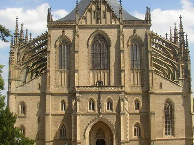 Saint Barbara Cathedral In Kutn Hora