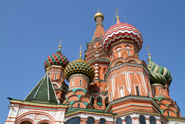 Tour Downtown Moscow With Panoramic Photos