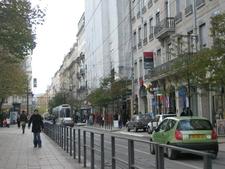 Street Tram In The City