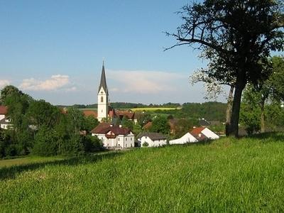 Saint George Church-Allhaming, Upper Austria, Austria
