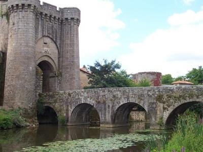 The Saint-Jacques Gate And Bridge