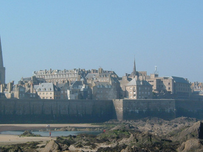 Walled City Of Saint Malo