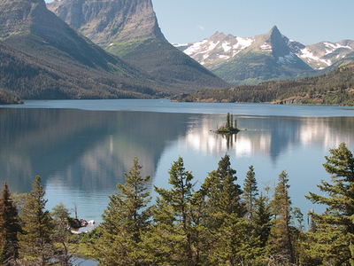 Saint Mary Lake Trailviews - Glacier - Montana - USA