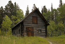 Saint Mary Ranger Station - Glacier - USA