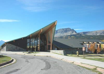 Saint Mary Visitor Center, Entrance And Checking Stations - Glacier - USA