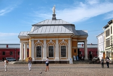 Saint Petersburg - Peter & Paul Fortress - Boat House