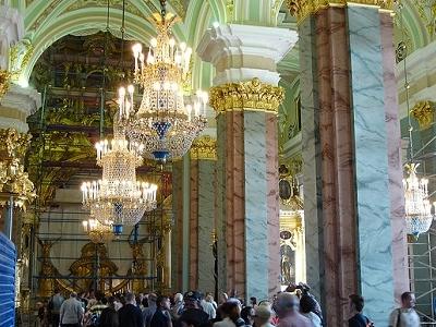 Saints Peter & Paul Cathedral - St. Petersburg