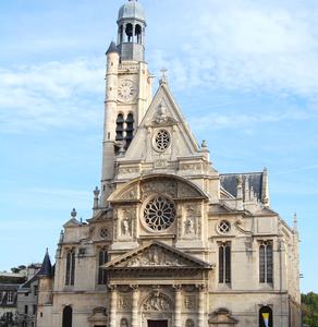 View Of Saint Étienne Du Mont