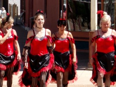 Saloon Girls On Allen  Street