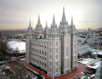 Salt Lake City Mormon Temple Overview UT