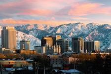 Salt Lake City UT & Wasatch Range