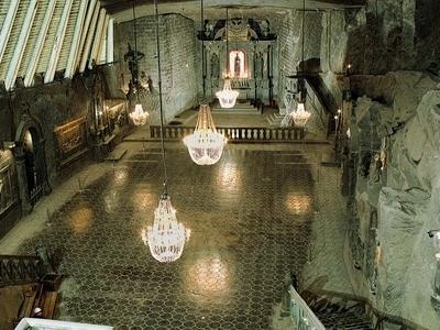 Salt Mine In Wieliczka