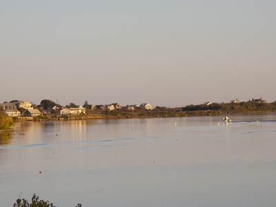 Salt  Pond In  Chrlestown