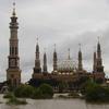 Samarinda Grand Mosque Facing The Mahakam