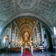 San Agustin Church Interior