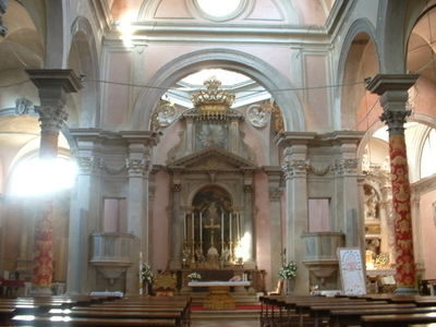 Interior Of San Canciano