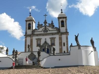 Sanctuary Of  Bom  Jesus Do  Congonhas