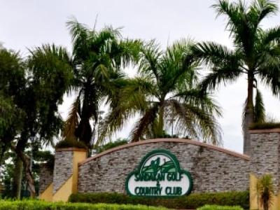 Sandakan Golf & Country Club - Gate