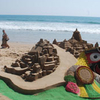 Sand Art Puri Beach