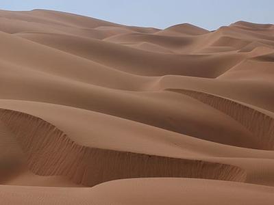 Sand Dunes In The Rub' Al Khalid