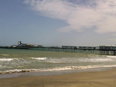 Sandown  Pier  Isle Of  Wight  England