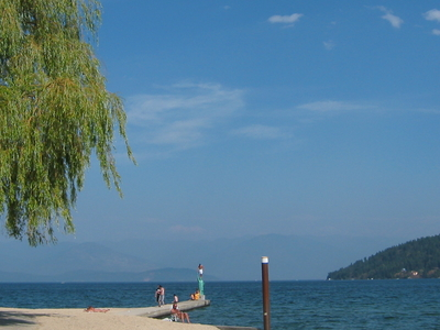 City Beach On Lake Pend Oreille, Sandpoint