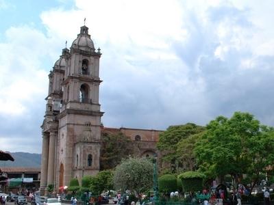 Main Plaza And San Francisco De Asis Church
