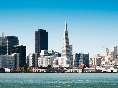 San Francisco Downtown Landscape CA