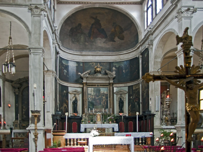 Internal View Of San Giovanni Grisostomo