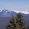 Sangre De Cristo Mountains In Carson National Forest