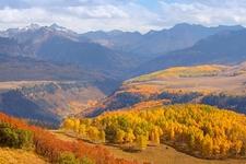 San Juan Mountains CO Autumn View