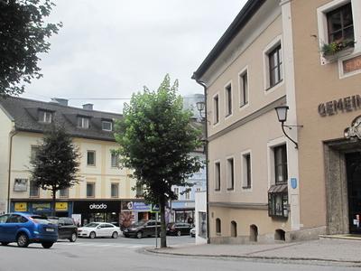 Sankt  Johann  Straatzicht Bij Stadhuis