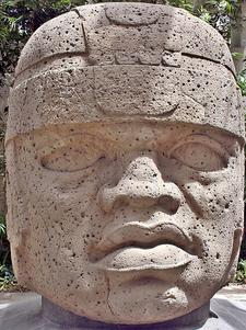 San Lorenzo Tenochtitlán Head - Veracruz - Mexico