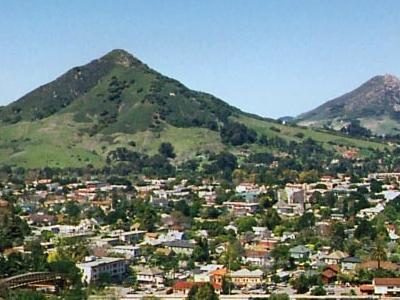 San Luis Obispo Calif City View 6 0 0