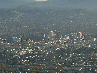 San Mateo From Above