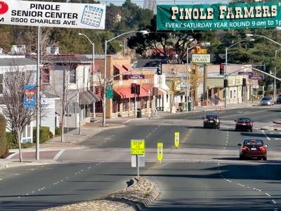 San Pablo Avenue Facing North