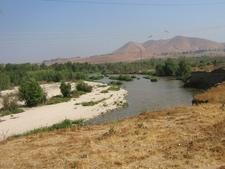 The Santa Ana River