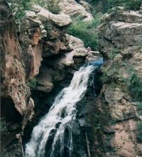 Santa Fe Jemez Falls Campground