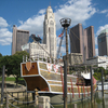 Santa Maria Ship Replica & Columbus Skyline