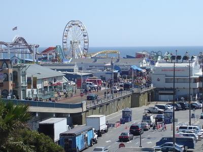 Santa  Monica  Pier  Top  View